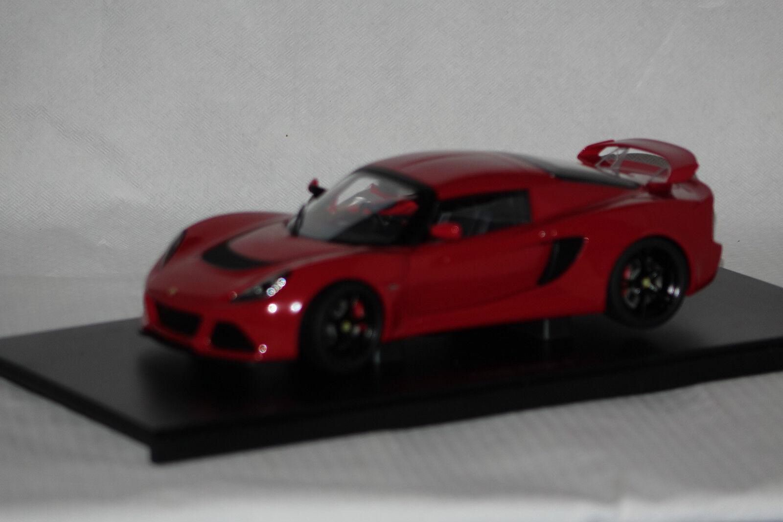 Lotus EXIGE s 2012 rouge rouge rouge 1:18 AUTOart NOUVEAU & OVP 75381 | Prix Raisonnable  46c172