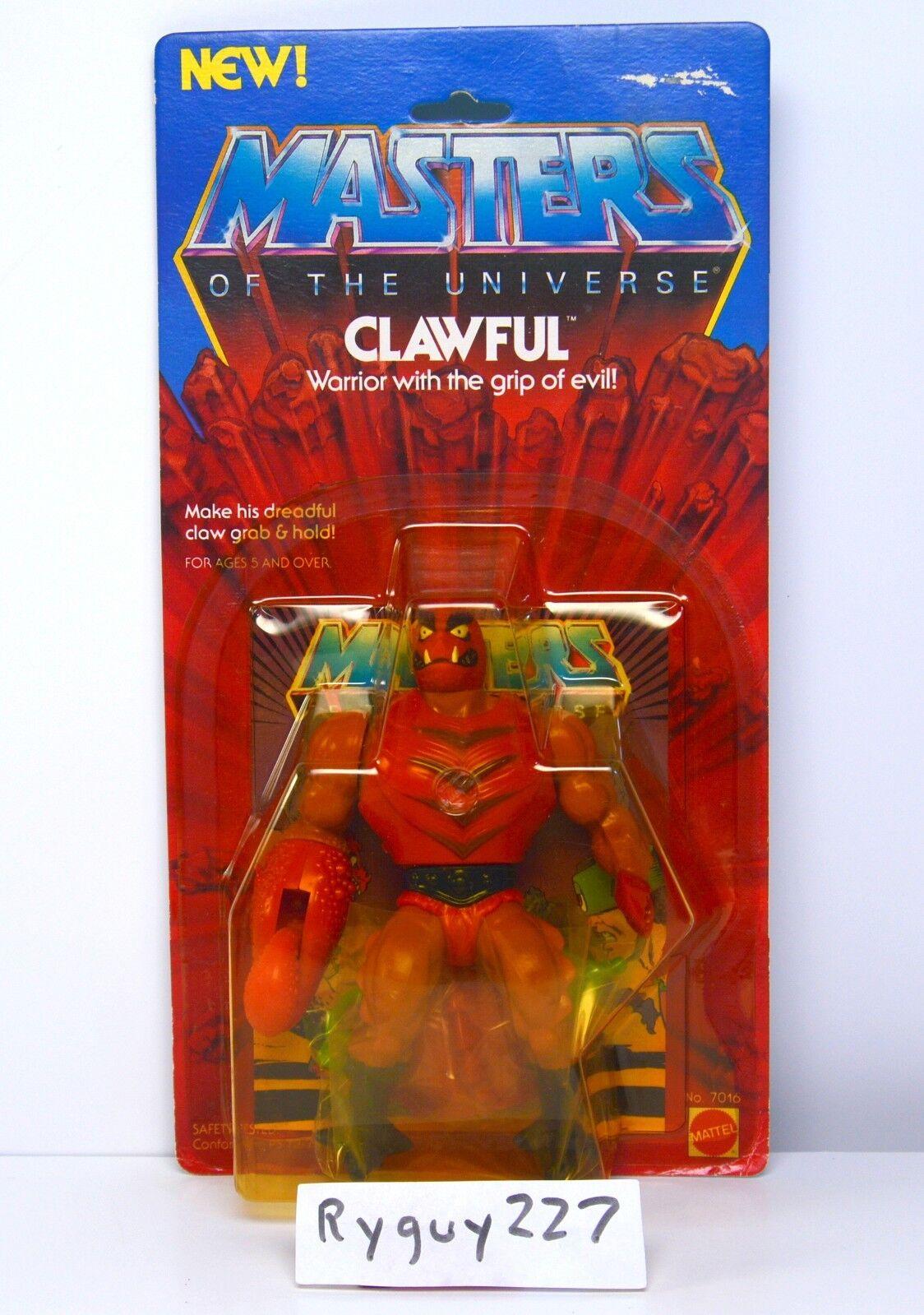 Amos del Universo, Clawful, Amos del Universo, menta en tarjeta, cardado, Sellado, Figura, he-man
