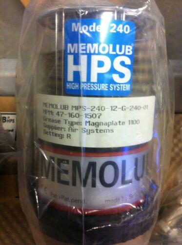 PLI MPS-12-G-240-01 MEMOLUB HPS MULTI-POINT LUBRICATOR SYSTEM NIB!!