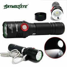 Waterproof 6000LM XML T6 LED USB Rechargeable Flashlight 18650 Torch Lamp Light