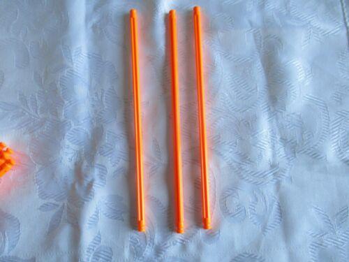 CLASSIC KNEX FREE P/&P K/'NEX Rigid rod 190 mm Fluorescent Orange  # 91955