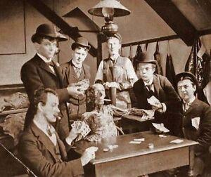Antique-Medical-Students-Playing-Poker-Photo-239-Oddleys-Strange-amp-Bizarre