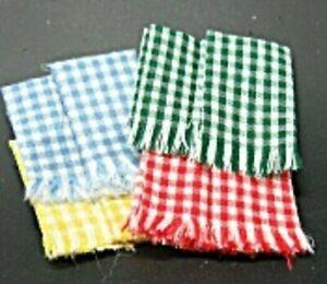 Dollhouse Miniature Artisan Workshop Garage Shop Towels