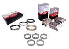Piston Rings Chevy Chevrolet 327 350 5.7 68-95 Enginetech Rod Main Bearings