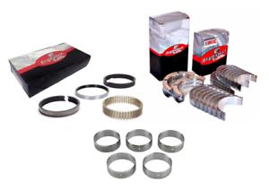 Main Rod Camshaft Bearings w// Piston Rings for 1967-1985 Chevrolet SBC 5.7L 350