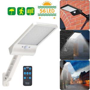 56LED-Solar-Motion-Sensor-Wall-Light-Remote-Control-Outdoor-Garden-Street-Lamp