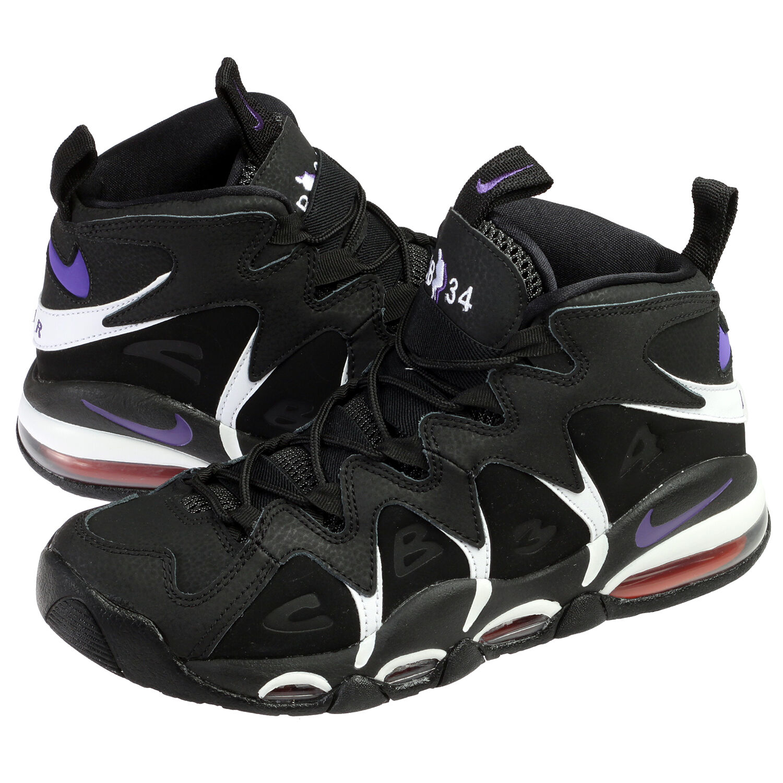 New 2015 NIKE AIR MAX CB34 Charles Barkley Black Suns Retro Sneakers Mens Sz 9.5