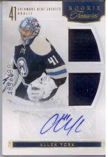 Allen York-Panini-2012-13 NHL Hockey Signature Card # 151