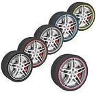 "RED Alloy Wheel Rim Protector Trim 13 14 15 16 17 18 19 20 21 22 "" 16mc"
