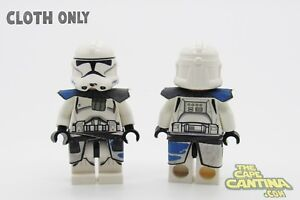 Lego Star Wars Minifigure Lot Of 2 Phase 2 Captain Rex Custom Cloth