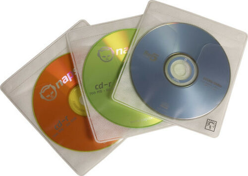 Case Logic CDS-120 ProSleeves Double Sided CD Sleeve 120 CD Capacity