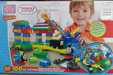 Mega Bloks 10619 - Thomas at the Sodor Paint Shop Playset  ** GREAT GIFT **