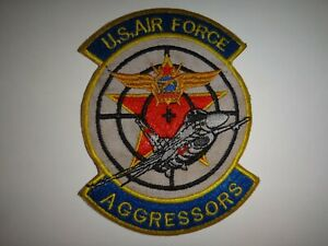 USAF Air Force Fighter AGGRESSORS Adversary Squadron Patch