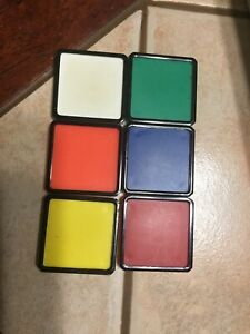 Vintage 1982 Rubiks Race Game By Ideal Lot Of 6 Color ...