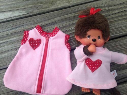 Nachthemd für MONCHICHI Gr 20 Bettzeug MONCHHICHI Pucksack Kleid Schlafsack