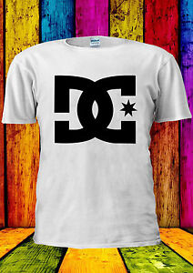 Charmant Dc T Shirt Tee Skate Sport Casual T-shirt Gilet Débardeur Hommes Femmes Unisexe 2137-afficher Le Titre D'origine