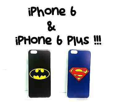 BUY 2 GET 1 FREE IPHONE 6 PLUS + SUPERMAN BATMAN PHONE CASE DC COMIC BOOK