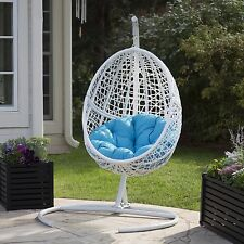 Item 1 Patio Chair Egg Outdoor Furniture Swing Wicker Hanging Cushion Porch  Indoor New  Patio Chair Egg Outdoor Furniture Swing Wicker Hanging Cushion  Porch ...