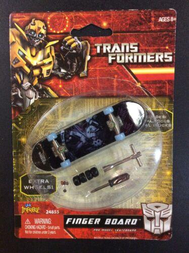 Lot de jouets Transformers Finger Board Bumblebee Optimus Prime Autobots Megatron G1