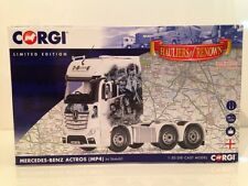 Corgi CC15809 Mercedes-Benz Actros (MP4) Tractor Unit In Transit 1:50 Scale New