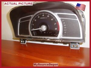 2006-2007-2008-2009-2010-2011-CIVIC-COUPE-SPEEDOMETER-INSTRUMENT-CLUSTER