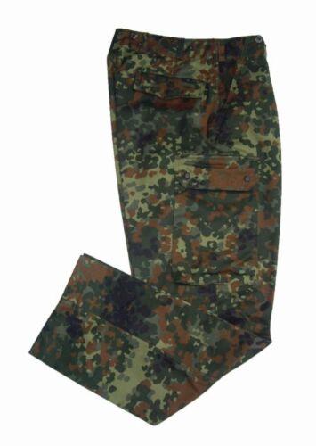 Camo Cargo Army Military Trousers New German Flecktarn Combat Pants