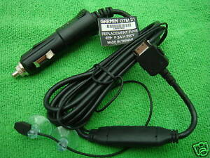Official-Garmin-ZUMO-660-760-680-Nuvi-Vehicle-Power-Cable-Traffic-TMC-Charger