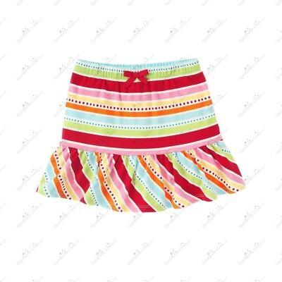 Gymboree POLKA DOT LADYBUG Black Red Polka Dot Ribbon Bow Tiered Skirt Skort NWT