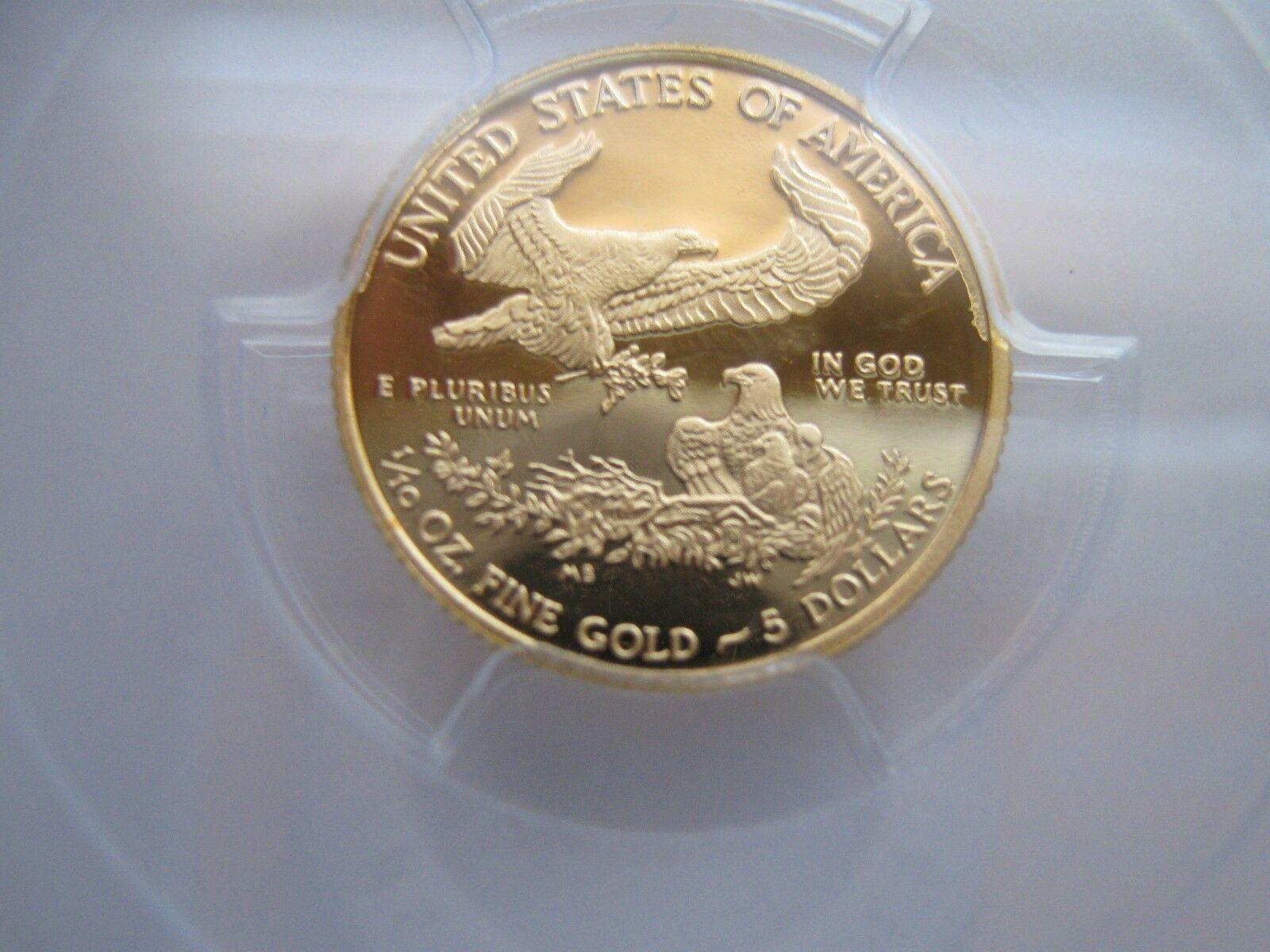2013-W , American Eagle , Gold , $5 , PCGS ,PF-70 , DCA