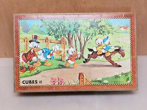 Garnier-carnil-boite-Jeu-de-Cube-40-Cubes-walt-Disney-donald-Mickey-5-planche