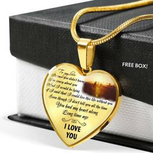 59a28020ea69b To My Love Heart Necklace Chain - Gift For Girlfriend From Boyfriend ...