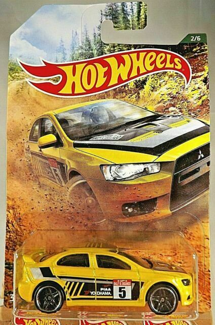 2008 LANCER EVOLUTION Yellow WALMART EXCLUSIVE Rally Series Car 2019 Hot Wheels