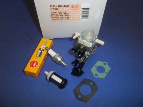 NEW CARBURETOR FUEL FILTER PLUG GASKETS FITS STIHL  BG86 BG86C 42411200606 OEM
