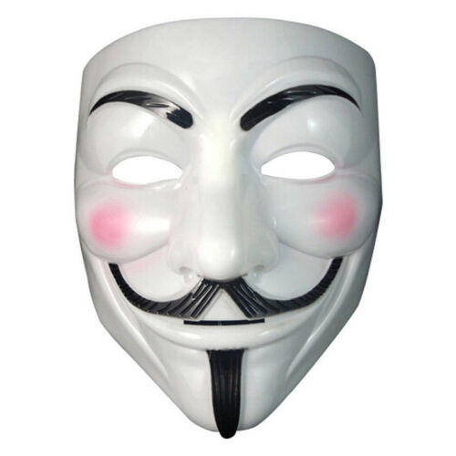 The V For Vendetta Party Halloween Christmas Cosplay Masque Mask Adult Costume