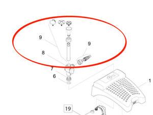 Oase Beipack Düsenset Start 35717 für Filtral UVC 5000 Aquarius Fountain Set