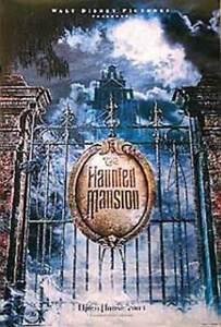 Die Haunted Mansion (Zweiseitig Advance) Original Filmposter