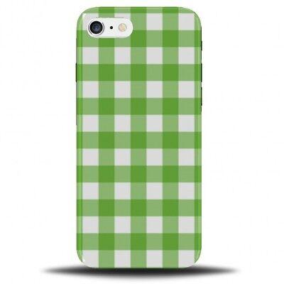 pretty nice b980a ae554 White and Green Tartan Phone Case Cover   Gingham Design Pattern Chequered  B827   eBay
