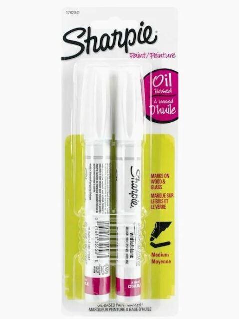 Sharpie Paint Oil Based Opaque Paint Marker Medium Point White