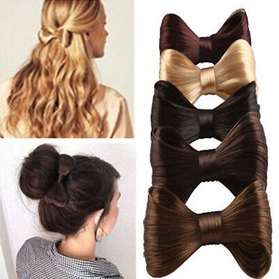 Women Girls Hairstyle Big Bow Ties Wig Hairpin Hair Clips Hairpin  Accessories