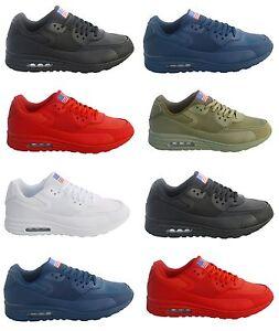 Hombre-Zapatillas-Deportivas-De-Mujer-Correr-deporte-Otono-Invierno-Zapatos