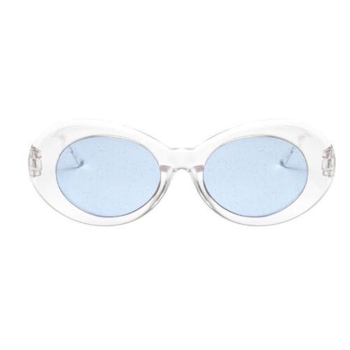 Retro Vintage Women Men Fashion Transparent Sunglasses Glass Shades Eyewear 2018