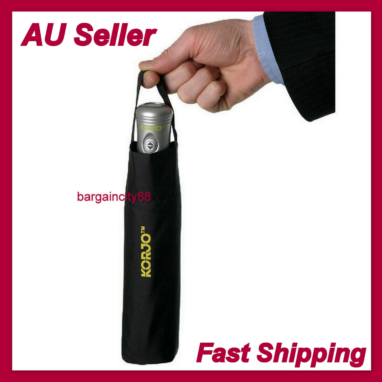 Upside Down Windproof Inverted Reverse Automatic Folding Umbrella With Carry Bag