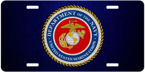 USMC License Plate - Multiple Options Marine Corps U.S