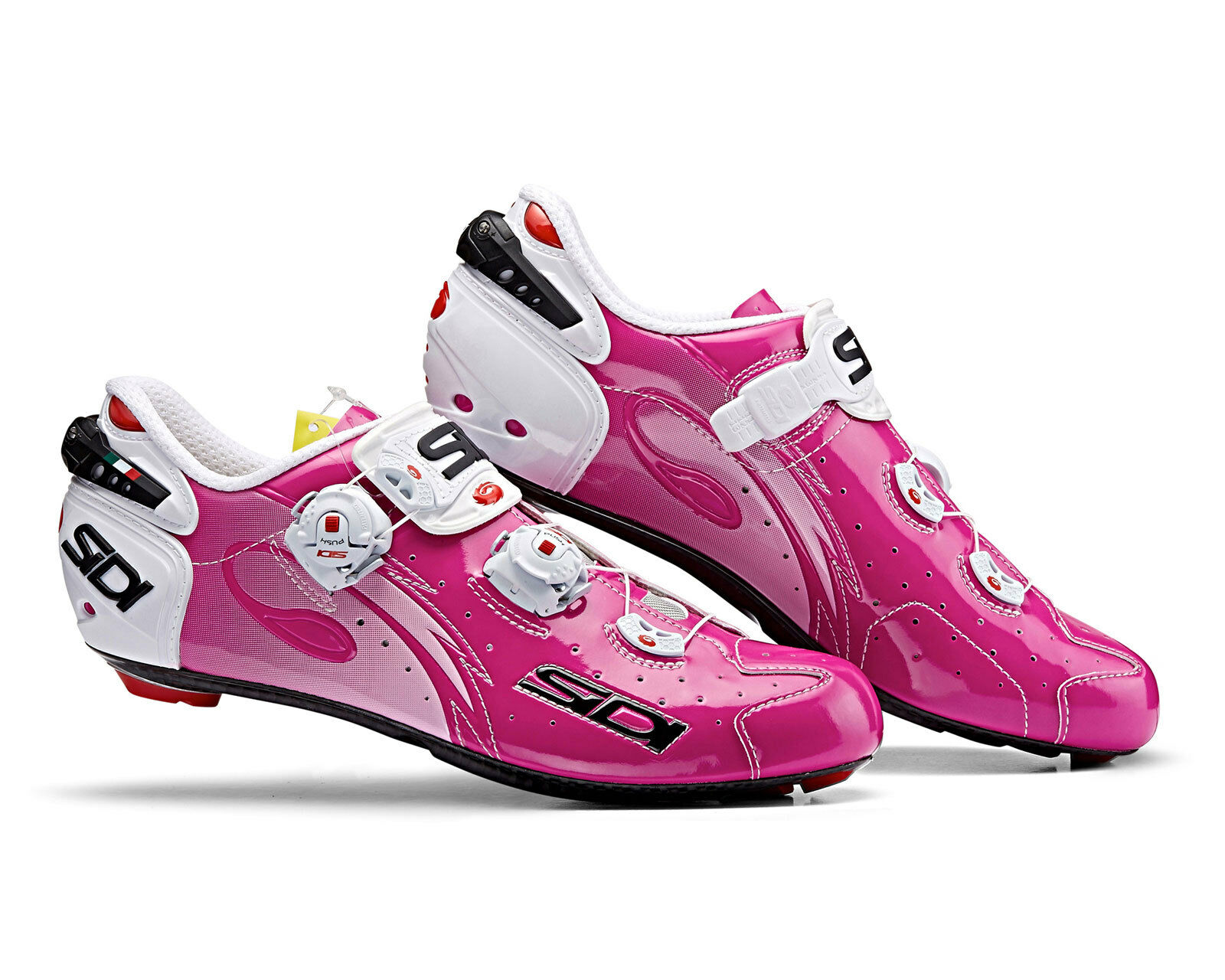 SIDI Wire Carbon Road Cycling  shoes - Fuxia  online discount