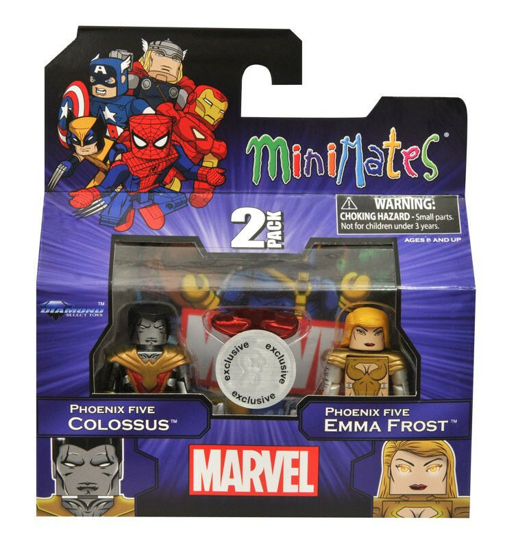 Marvel Minimates_COLOSSUS_EMMA FROST_CAPTAIN AMERICA_SCARLET WITCH_Exclusive_MIB