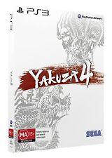 Yakuza 4 Shiro Edition PS3 PAL AUS *BRAND NEW!*