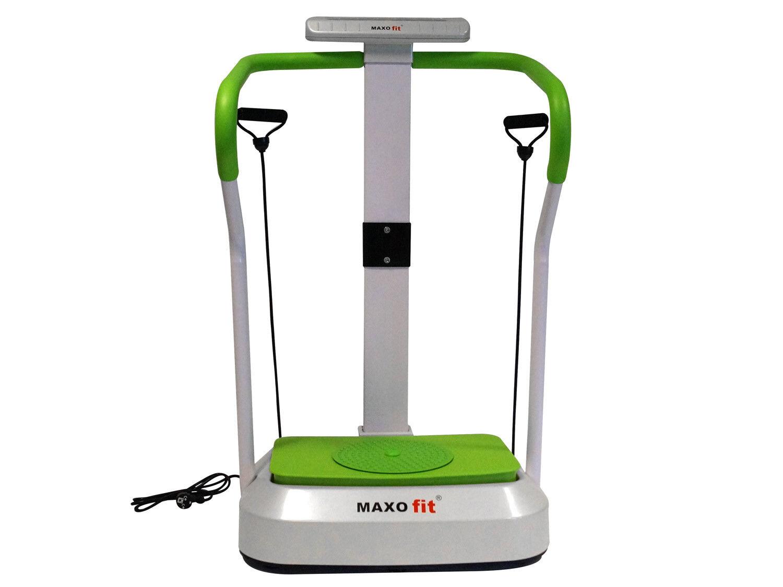 MAXOfit® Vibrationsplatte MF-26 Vibrationstrainer mit Haltegriff und vielen Ext