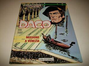 DAGO-28-MISSIONE-A-VENEZIA-WOOD-amp-GOMEZ-EURACOMIX-TUTTOCOLORE-N-123-EURA-DIC-1998