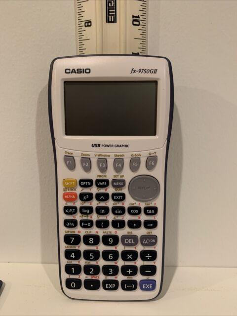 Casio fx-9750GIII Graphing Calculator With USB Cord