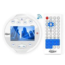 New AQR84W Bluetooth Marine Yacht Gauge Digital Receiver USB MP3 AUX Video Input